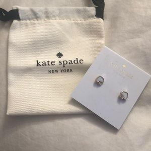 Kate Spade earrings (stud with pearl in the back)